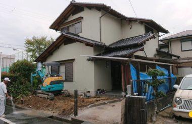 熊取町リノベーション工事
