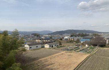 奈良県にて