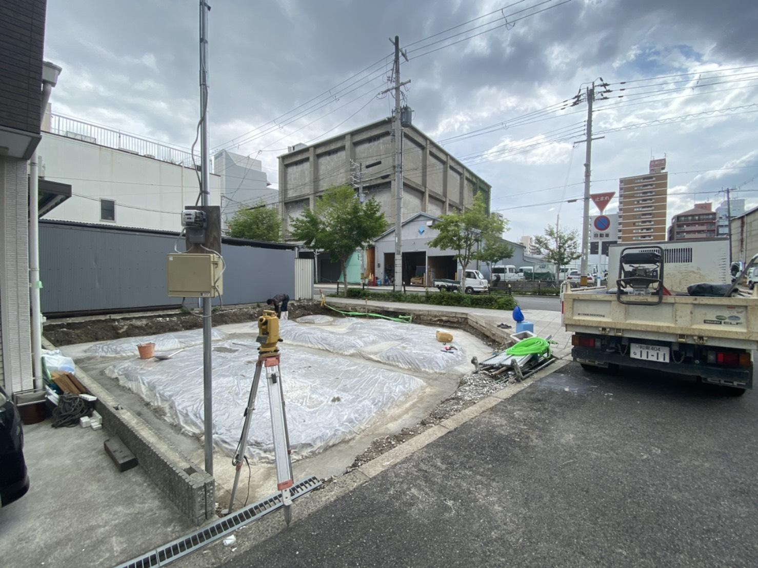 大阪市K様邸現場報告