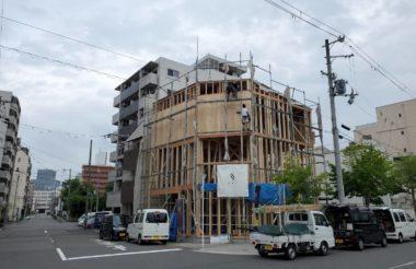 大阪市浪速区K様邸 上棟